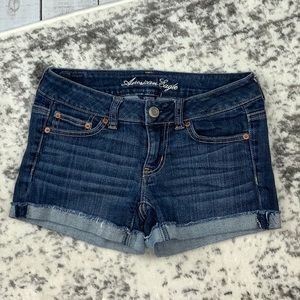 American Eagle Outfitters Stretch denim shorts